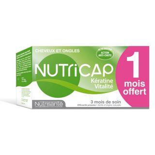 Nutricap kératine vitalité 90 capsules + soin nut…   Achat / Vente