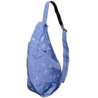 Ameribag Electric Blue Dragon Fly Back Sling Bag
