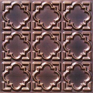 142 Faux Tin Ceiling Tile Glue up (24x24) Antique Copper