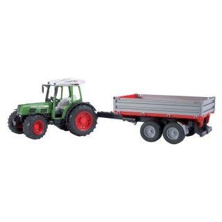 Tracteur FENDT Farmer 209S avec remorque basculante Série Top Pro de
