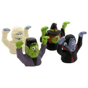 Halloween Monster Finger Puppets Toys & Games