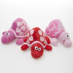 Plush Valentine Turtles Toys & Games