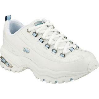 Womens Skechers Sport Premium White/Blue