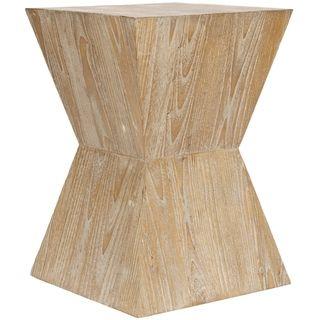 Bali Sugkai Wood Side Table