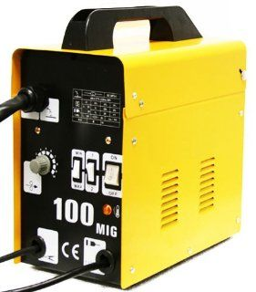 MIG 100 GAS LESS FLUX CORE WIRE WELDER WELDING MACHINE