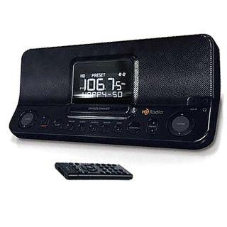 E16 I168 Desktop HD AM/FM Dual Alarm Clock Radio