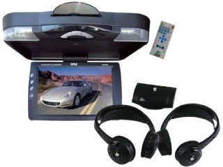 Pyle Super DVD/Headphones Package for Car/Truck/SUV