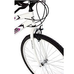 Titan Wildcat Womens White/ Lavender Mountain Bike