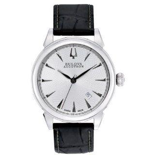 Bulova Accutron Gemini Leather Strap Automatic Movement Watch 63B148