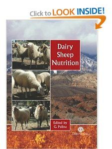 Dairy Sheep Nuriion Giuseppe Pulina 9780851996813
