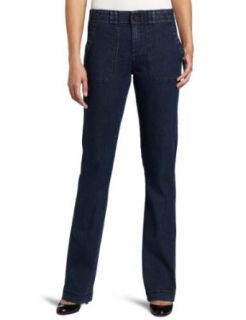 Lee Womens Misses Comfort Fit Fairbanks Barely Denim