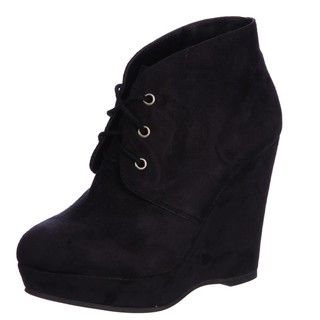 Madden Girl Womens Estyr Black Ankle Booties