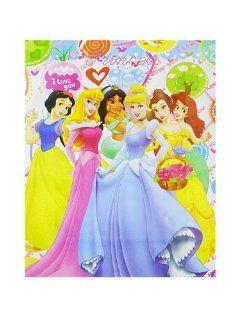 Disney Princess Jumbo Plastic Gift Bags   12 Pack Home