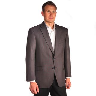 Jean Paul Germain Mens Window Pane Sport Coat
