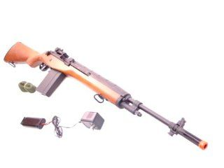NEW Cyma M14 Wood CM032 AIRSOF Gun MODEL REPLICA RIFLE
