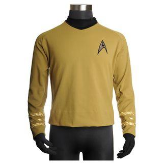 Star Trek Captain Kirk High quality Replica Uniform