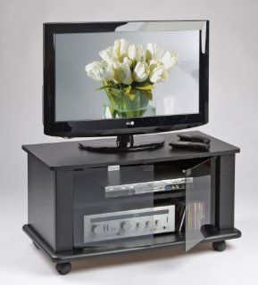 Elite Industries EL146N   37 TV Stand with Casters Home