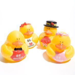 Valentine Rubber Duck Toys & Games