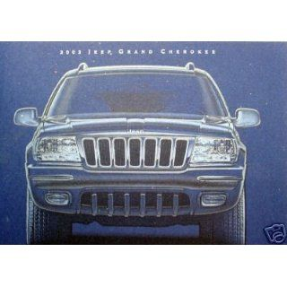 2002 Jeep Grand Cherokee SUV vehicle brochure Everything