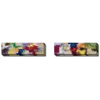 Bailey Colourama I and II 2 piece Canvas Art Set Today $179.99 Sale