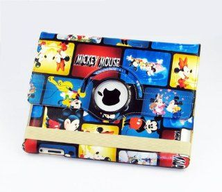 Backhomeday Rotating Smart Cover Mickey Mouse Magnetic