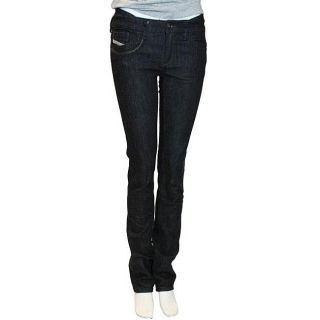Diesel Womens Liv Special 8GD Black Jeans