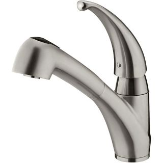 Vigo Calista Pull out Stainless Steel Kitchen Faucet