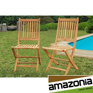 Terra Teak Dining Side Chairs (Set of 2)