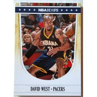2011 12 Panini Hoops #154 David West Trading Card in a Protective Case