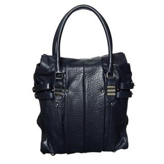 Hype Robert Leather Midnight Blue Shoulder Bag