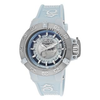Invicta Womens Subaqua/Noma III Light Blue Silicone Watch
