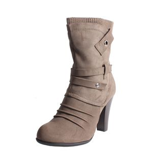 Blossom by Beston Womens Dove 1 Mid calf Boots