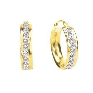 Diamond Fascination 14K Yellow Gold Diamond Accent Round