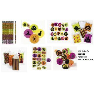 156 HALLOWEEN PARY Favors/FLYING Discs/PENCILS/AOOS/Sickers/INK