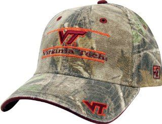Virginia Tech Realtree Camo Stretch  Fit with Classic Bar