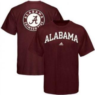 Alabama Crimson Tide adidas Crimson Relentless T Shirt