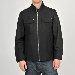 Buffalo Mens Black Wool blend Convertible Collar Jacket Today $87.99