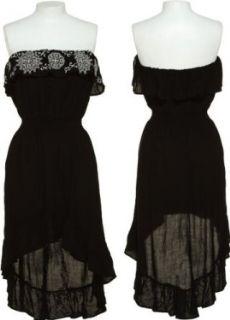 HEART SOUL Sleeveless High Low Dress [617610BR 158] Clothing