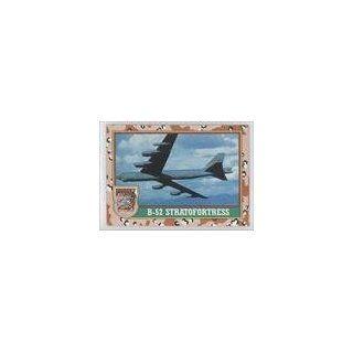 B 52 Stratofortress (Trading Card) 1991 Topps Desert Storm