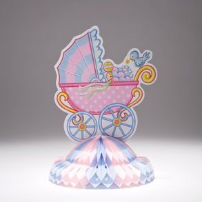 Baby Shower Carriage Centerpiece: Toys & Games
