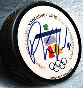 Phil Kessel Signed Team USA 2010 Olympic Hockey Puck