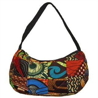 Cotton Small Original Patchwork Hobo Bag (Kenya)