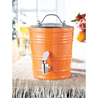 American Atelier Orange 90 oz Beverage Dispenser