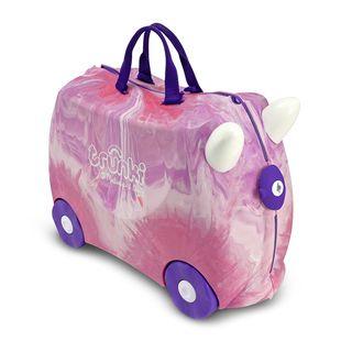 Melissa & Doug Trunki Purple/ Pink Swirl Luggage Toy