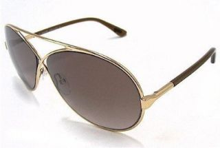 FORD Georgette TF 154 Sunglasses TF154 Gold/Brown 28F Shades Shoes