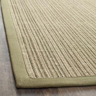 Dream Natural Fiber Green Sisal Rug (6 x 9)