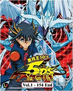 Yu Gi Oh 5Ds TV Series Episodes 1 154 Anime DVD Set: Movies & TV
