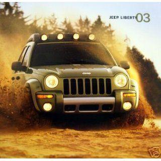 2003 Jeep Libery SUV vehicle brochure