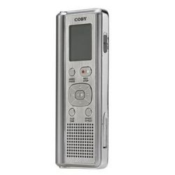 Coby CXR190 1GB Digital Voice Recorder