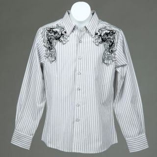 191 Unlimited Boys Stripe Shirt